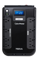 CyberPower CP750LCD Standby (Offline) 750VA 8AC outlet(s) Black uninterruptible power supply (UPS)