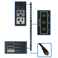 Tripp Lite PDU3MV6L2120LV 42AC outlet(s) 0U Black power distribution unit (PDU)