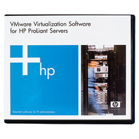 Hewlett Packard Enterprise VMware vSphere Standard 1 Processor 3yr Software virtualization software