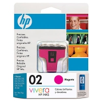 HP 02 Magenta Ink Cartridge