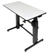 Ergotron WorkFit-D Black,Grey Computer Desk