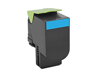 Lexmark 80C0S20 Cartridge 2000pages Cyan laser toner & cartridge