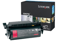 Lexmark 12A6760 Laser cartridge 10000pages Black toner cartridge