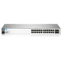 Hewlett Packard Enterprise BladeSystem 2530-24G Managed network switch Gigabit Ethernet (10/100/1000) 19U Black