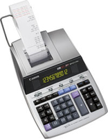 Canon MP1211-LTSC Desktop Rekenmachine met printer Zilver calculator
