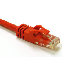 C2G 150ft Cat6 550MHz Snagless Patch Cable Red 45m Red networking cable