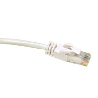 C2G 3ft Cat6 550MHz Snagless Patch Cable White 0.9m White networking cable
