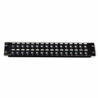 C2G Blank Keystone/Multimedia Patch Panel 24-Port 2U Patch Panel
