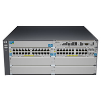 Hewlett Packard Enterprise ProCurve 5406-44G-PoE+-4G-SFP v2 zl Managed L3 Gigabit Ethernet (10/100/1000) Power over Ethernet (Po