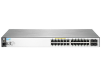 Hewlett Packard Enterprise Aruba 2530 24G PoE+ Managed L2 Gigabit Ethernet (10/100/1000) Power over Ethernet (PoE) 1U Grey