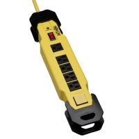 Tripp Lite TLM609SA Safety Surge Suppressor 6AC outlet(s) 120V 2.7m Yellow surge protector