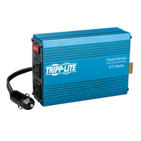 Tripp Lite 375W PowerVerter Auto 375W Blue power adapter & inverter