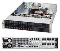 Supermicro SuperChassis 219A-R920WB Rack 920W Black computer case