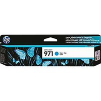 HP 971 Cyan Cyan ink cartridge