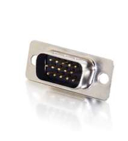 C2G HD-15 Male HD15 Silver wire connector