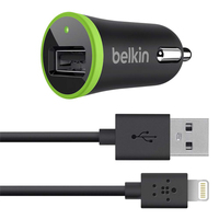 Belkin F8J078BT04 Auto Black,Green mobile device charger