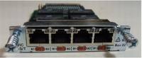 Cisco 4-Port ISDN BRI S/T High-Speed WAN Interface Card Intern netwerkkaart & -adapter