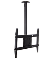 "Ergotron Neo-Flex 65"" Black flat panel ceiling mount"