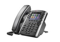 Polycom VVX 410 Wired handset 12lines LCD Wi-Fi Black IP phone