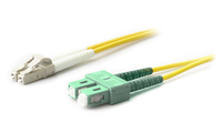 Add-On Computer Peripherals (ACP) 20M LC-SC/APC SMF 9/125 20m SC LC Yellow fiber optic cable