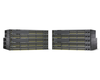 Cisco Catalyst WS-C2960X-48FPS-L Managed L2/L3 Gigabit Ethernet (10/100/1000) Power over Ethernet (PoE) Black network switch