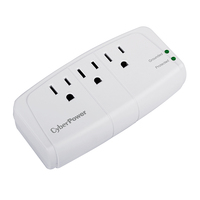 CyberPower CSB300W 3AC outlet(s) 125V White surge protector