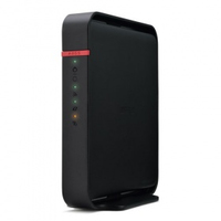 Buffalo N300 Fast Ethernet Black wireless router