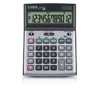 Canon BS-1200TS Desktop Financial calculator Black, Grey calculator