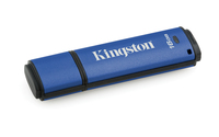 Kingston Technology DataTraveler Vault Privacy 3.0 16GB 16GB USB 3.0 (3.1 Gen 1) Type-A Blue USB flash drive