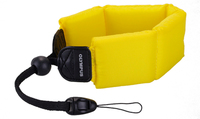 Olympus 202364 Digital camera Black,Yellow strap
