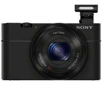 "Sony Cyber-shot DSC-RX100 Compact camera 20.2MP 1"" CMOS 5472 x 3648pixels Black"