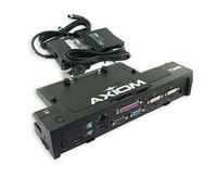 Axiom 331-6304-AX Black notebook dock/port replicator