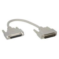 C2G 25ft DB25 M/F Extension Cable DB25M DB25F Grey cable interface/gender adapter