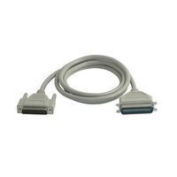 C2G 20ft IEEE-1284 DB25M to C36M Parallel Printer Cable 6.09m Grey printer cable