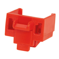 Panduit PSL-DCJB Red 10pcs cable boot
