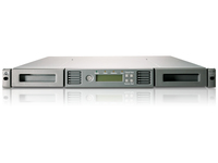 Hewlett Packard Enterprise StoreEver 1/8 G2 LTO-5 Ultrium 3000 Fibre Channel Tape Autoloader 12000GB 1U tape auto loader/library