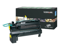 Lexmark 24B6021 Laser toner 18000pages Yellow laser toner & cartridge