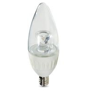 Verbatim Candle 2700K 315lm 4.9W E12 Warm white LED lamp