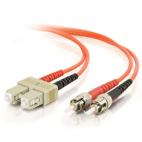 C2G 10m SC/ST 10m SC ST Orange fiber optic cable