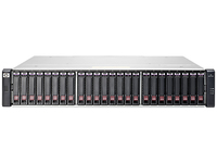 Hewlett Packard Enterprise MSA 1040 Rack (2U) Zwart disk array