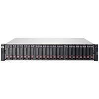 Hewlett Packard Enterprise MSA 1040 Rack (2U) Zwart, Roestvrijstaal disk array