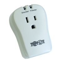 Tripp Lite TRAVELCUBE 1AC outlet(s) 120V White surge protector