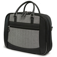 "Mobile Edge MESFEBHL 16"" Briefcase Black,Grey notebook case"