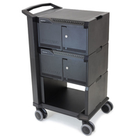 Ergotron Cart 32 Notebook Multimedia cart Zwart