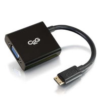 C2G 41350 0.2032m HDMI VGA (D-Sub) Black video cable adapter