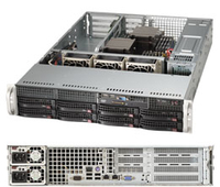 Supermicro SuperServer 6028R-WTRT Intel C612 LGA 2011 (Socket R) 2U Black