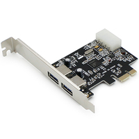 Add-On Computer Peripherals (ACP) ADD-PCIE-2USB30 Internal USB 3.0 interface cards/adapter