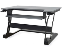 Ergotron WorkFit-T Black Computer Desk