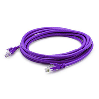 Add-On Computer Peripherals (ACP) Cat6A 3m 3m Cat6a U/UTP (UTP) Purple networking cable