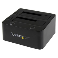 StarTech.com Universal docking station for hard drives – USB 3.0 with UASP